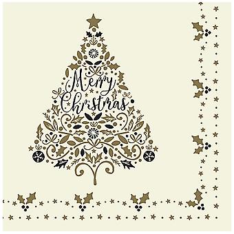 Swantex 'Tis The Season Christmas Swansoft Napkins 40cm