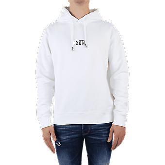 Dsquared2 Sweatshirt Vit S79GU0010100 Topp