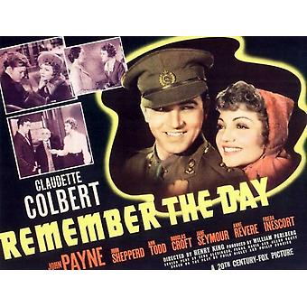 Remember the Day Movie Poster (11 x 17)