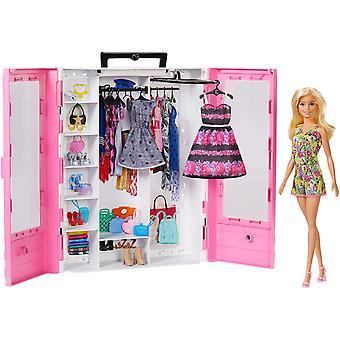 Barbie GBK12 Fashionistas Ultimate kaappi nukke ja lisävaruste