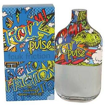 Fcuk Friction Pulse By French Connection Eau De Toilette Spray 3.4 Oz (men) V728-535943