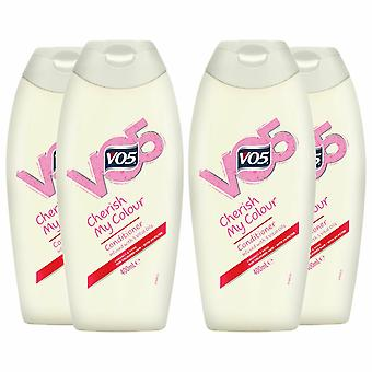 VO5 Cherish My Colour Conditioner with UV Filter - 400ml, Buy 4