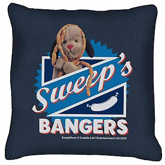 Sooty Sweeps Bangers Cushion