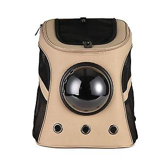 Large Capacity Pet Carrier Premium Canvas Space Capsule - Cat, Dog Carrier