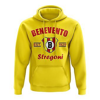 Benevento Established Football Hoody (Jaune)