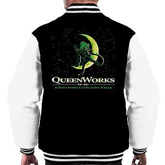 Alien QueenWorks i verdensrommet ingen kan høre deg skrike menn & apos; s Varsity Jakke