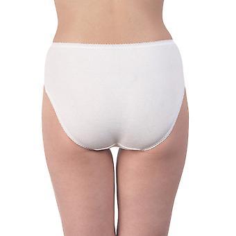 Oscalito 716-10 Women's White Cotton Brief