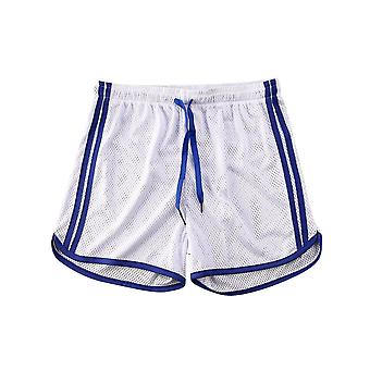 Men Summer Running Shorts- Men Fitness Soccer Sport Gyms Short Bottoms