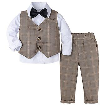 Baby Formal Suit, Infant Outfit Winter Long Sleeve Outwear Suits Set