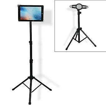 Support de tablette universal Mount Tripod Floor Stand pour iPad, Kindle Fire, Samsung, Lenovo et autres ordinateurs portables de 7 à 12 pouces