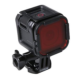 Standard Housing Diving Filter for GoPro HERO5 Session /4 Session(Red)