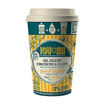 Concentrated shower gel - Vanilla / Monoï Oil Starter kit 100 ml of gel