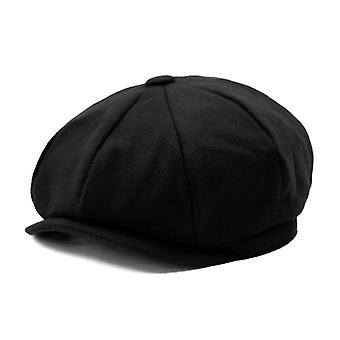 Plus Size Peaky Blinders Men Berets Hat Autumn Casual Pumpkin Hat Gatsby Flat