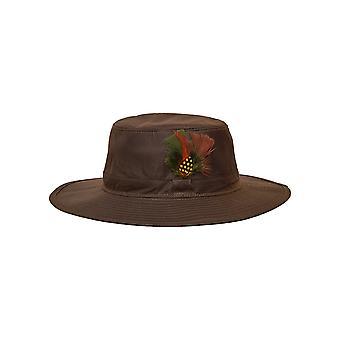 Walker and Hawkes - Unisex Wax Wide Brim Aussie Hat