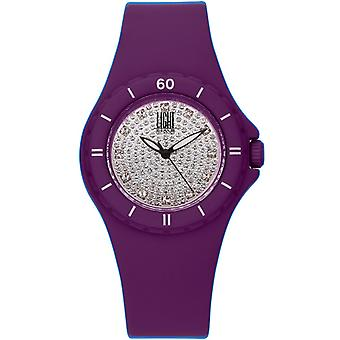 Light time watch silicon strass l122vi