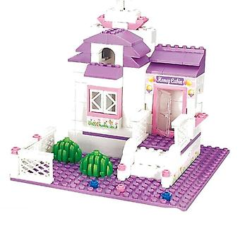 Princess Series Big Garden Villa Castle Palace -building Block Model Toy