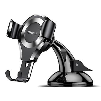 Baseus Universal Phone Holder Car with Dashboard Stand - Smartphone Holder Silver