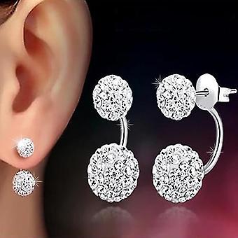 Double Ball  Earrings Jewelry