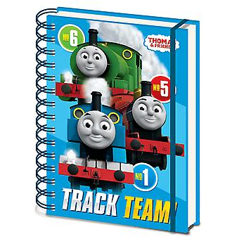 Thomas & Friends A5 Wirebound Notebook