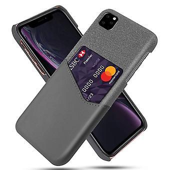 Suojakansi korttipaikalla Apple iPhone 11 6.1 & - Harmaa
