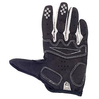 Eigo Aero Back Cycling Gloves Full Finger Grey