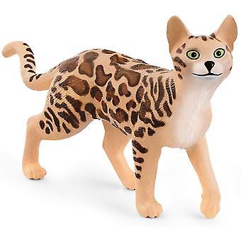 Schleich Farm World Bengal Cat