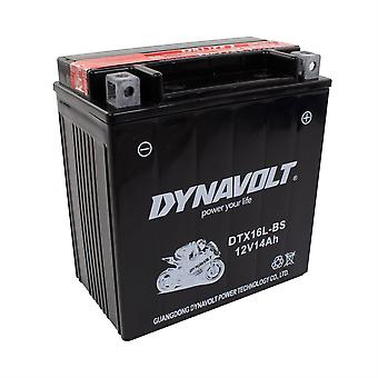 Dynavolt DTX16LBS Maintenance Free Battery With Acid Pack YTX16LBS