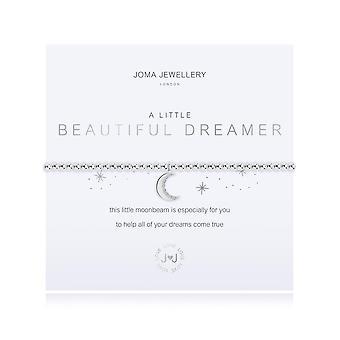 Joma Sieraden Een beetje mooie dromer Zilver 17,5 cm stretch armband 3215
