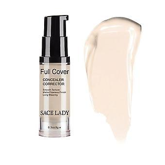 Cover Liquid Concealer Makeup Eye Dark Circle Cream Face Corrector Waterproof