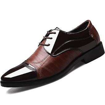 Business Luxury Oxford Hommes Chaussures en cuir respirant