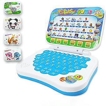 Multifunction Language Learning Machine Kids Laptop Toy, Early Educational