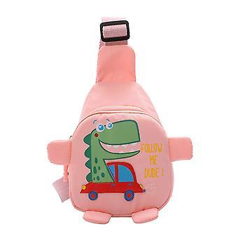 Infant Baby Mini Sling Backpack Cartoon Dinosaur Print Travel Satchel Shoulder