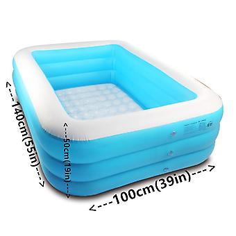 Pvc Inflatable Swimming Pool Bath Thickened Bubble Bottom