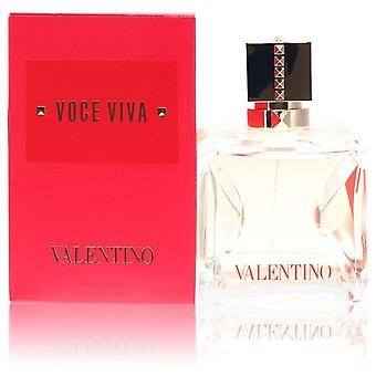 Voce Viva Eau De Parfum Spray di Valentino 3.38 oz Eau De Parfum Spray