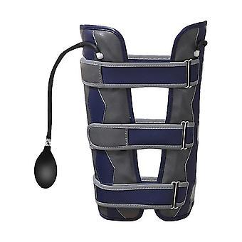 O/x type leg correction band knee valgum straightening belt effective leg posture corrector inflatable adjustable