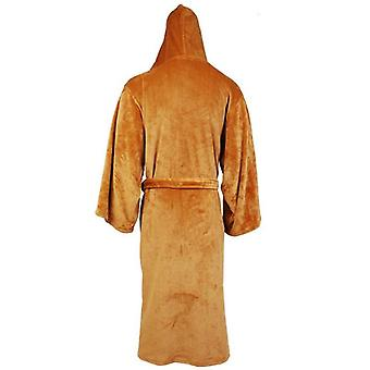 Zimowa flanelowa szata z kapturem Gruba Szlafrok Jedi Empire Sleepwear