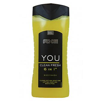 Axe You Clean Fresh 6 in 1 Duschgel 400 ml