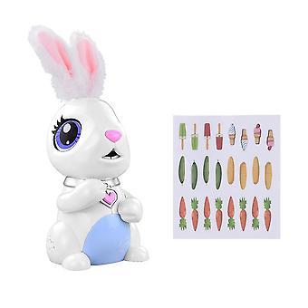 الأرنب الروبوتي التفاعلي (أبيض)