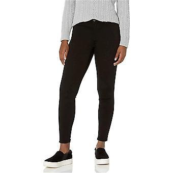 Essentials Kvinner's Skinny Jean, Svart, 14 Kort
