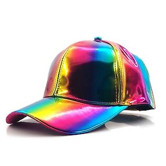 Luxury Fashion Hip-hop Hat For Rainbow Color Changing Hat Cap