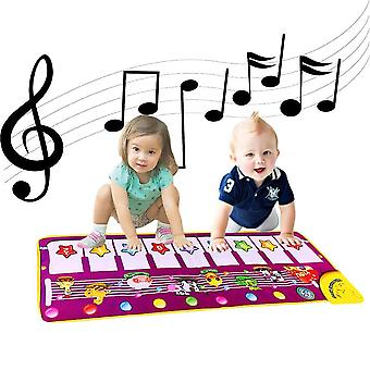 Baby Klavier Musikmatten, HanFei Elektronische Musik Tanzmatte Tier Tastatur Spielmatte Teppichdecke