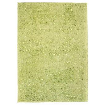 vidaXL Shaggy Rug 140 x 200 cm Green