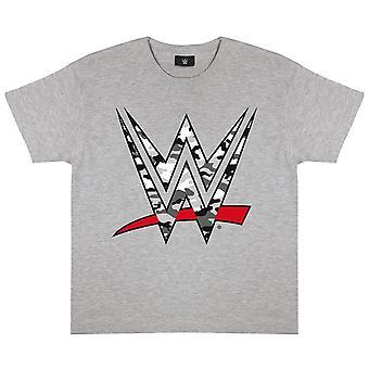 WWE Girls Camo Logo Heather T-Shirt