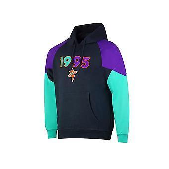 Mitchell & Ness Nba Trading Block Hoody All Star 1995 FPHDDA18004ASGBLACK195 universeel het hele jaar mannen sweatshirts