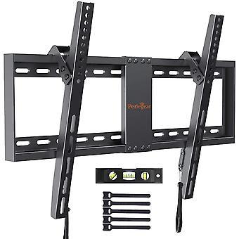 FengChun TV Wandhalterung, Neigbare TV Halterung für meisten 37-82 Zoll LED, LCD, OLED, Flach Curved