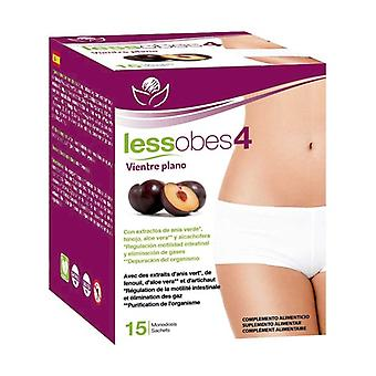 Lessobes 4 Flat Belly 15 packets