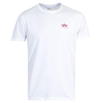 Alpha Industries Back Print T-Shirt - White