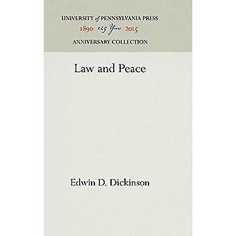 Law and Peace by Edwin D Dickinson - 9781512811254 Book