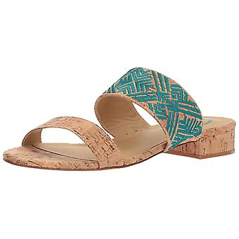 Sbicca Womens Palazzo Fabric Open Toe Casual Slide Sandals