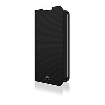 Black Rock Standard häfte fodral kompatibel med Samsung Galaxy A40 Soft Silikon TPU Omslag (Svart)